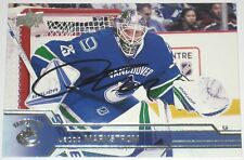 JACOB MARKSTROM SIGNED 16-17 UPPER DECK VANCOUVER CANUCKS CARD AUTOGRAPH AUTO!!