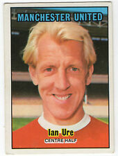 A&BC Scottish Football Card 1970 Green Back (86-171) #171 Ian Ure Manchester Utd