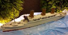 WIKING Passagierschiff Dampfer BRT 20000 Modellschiff metall alt 1:1250 MS#11