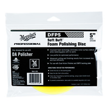Meguiar's Professional Soft Buff Foam Polishing Disc Car Crazy No Swirls DFP5