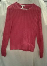 Charter Club Womens Red Sweater Size S