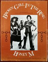 Boney M Brown Girl In The Ring 1978
