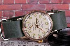 Komandirskie PILOT Watch Mechanical Mens Watch +new leather strap /NOS