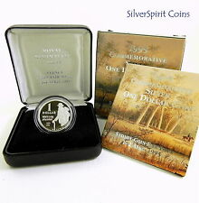 1995 $1 WALTZING MATILDA COIN FAIR Silver Proof Coin