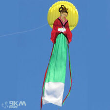 Traditional 3D 26ft Chang-E Fly To The Moon Soft Single Line Kite Kites Show
