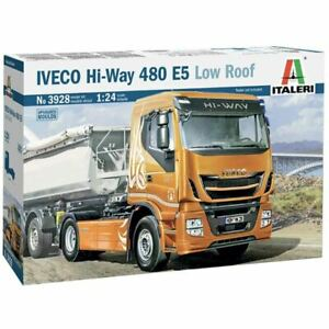 Italeri 1/24 IVECO Hi-Way 480 E5 Low Roof Kit (New)
