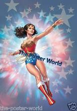 Wonder Woman superhero Film Immagine foto poster Wall Art Print Nuovo