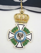 German House Order of Hohenzollern Commander Class w Ribbon