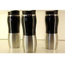 3 Stk Edelstahl Thermobecher Isolierbecher Kaffeebecher Coffee to go Becher Set