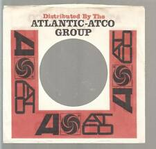 Company Sleeve 45 ATLANTIC / ATCO GROUP White/Red w/ Black/Red Writing on