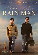 RAIN MAN DVD (Special Edition, Dustin Hoffman, Tom Cruise) NEAR MINT, L@@K!