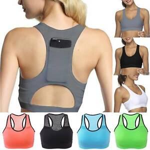 Ladies Gym Seamless Sports Bras Crop Top Vest Comfy Stretch Shapewear Yoga Bra