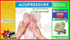 Season Sale!!! ACUPRESSURE BOOK - DR. ATTAR SIGH-( IN  ENGLISH ) free shipping