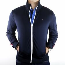 NWT Tommy Hilfiger Navy Full Zip Jacket w/ Zip Pockets Size Medium