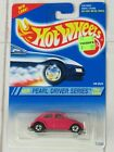 Hot Wheels 1995 #293 Pearl Driver Series #3/4 VW Bug Pink