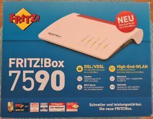 >> AVM FRITZ!Box 7590 1&1 HomeServer Speed+ Modem-Router (20002808) wie neu <<