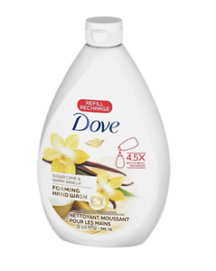Dove Foaming Hand Wash Sugar Cane & Warm Vanilla Refill Soap, 32 Fl. Oz.
