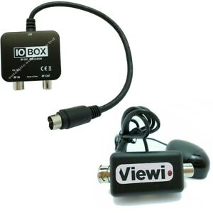 IO-LINK / SYNC / BOX RF MODULATOR OUTPUT + Viewi MAGIC EYE For SKY HD