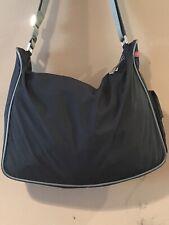 💯authentic vintage PRADA red sport black nylon tessuto crossbody shoulder bag