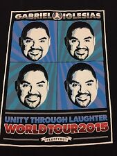 2015 Gabriel Iglesias Fluffy black Large T-shirt Stand Up Comedy Tour