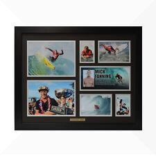Mick Fanning Signed & Framed Memorabilia - Black/Silver - Limited Edition