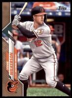 2020 Topps Series 2 Base Gold #586 Stevie Wilkerson /2020 - Baltimore Orioles