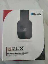 RLX Bluetooth Stereo Headset - Black - RLX-100 New in Box