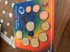 coffret BU euros Espagne 2010