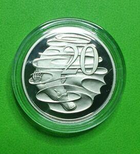 2010 Australian Proof Twenty Cent .20c coin - Sealed RAM Capsule - EX PROOF SET