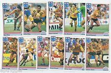 1992 Regina NSW Rugby League BALMAIN TIGERS Team Set (11 Cards) ++++