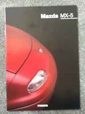 Mazda MX-5 1995-98 UK Market Sales Brochure 1.6i 1.8i 1.8iS in mint condition