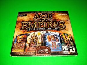 Age of Empires: Collector's Edition 3 CD-ROM PC 2006- Limited Edition