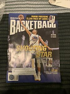 Stephen Curry Steph Signed Magazine