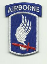 173th Airborne Division PATCH