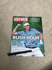 Russell Henley Golf Signed Autographed Magazine Pga Masters