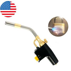 High Intensity Mapp & Propane Torch Trigger Start Welding Torch Kit