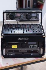 DJ / PA Anlage | 3x CD Player, Mischpult, Rack Case