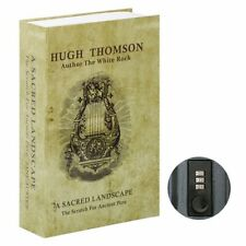 Secret Hidden Book Safe Combination Lock Money Cash Jewelry Security Box NEW