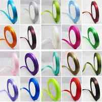 "2016 Hot 3/8""10 mm 25 yards Craft Bows Candy Satin Ribbon DIY Color Available P`"