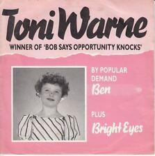 """Ben/Bright Eyes 7"""" : Toni Warne"""