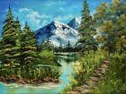 Giclee Print of Original Oil Painting (Bob Ross Style) Artist Jen Doyle