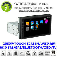 Android 8.1 7inch 8-Core 4+32G GPS WiFi DAB Mirror Link OBD Car Stereo Radio GPS