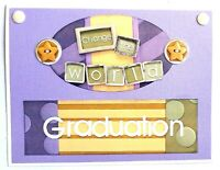 GRADUATION Greeting Card - CHANGE THE WORLD - Handmade with Envelope