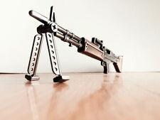 CF Miniature Military Mode M60 Machine gun Keychain Keyring Hangings Gifts U.S.A