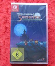 The longest Five 5 Minutes, Nintendo Switch Spiel Neu, deutsche Version