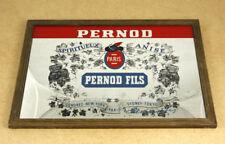 Pernod Fils Paris Vintage Advertising Mirror 32.5x22.4cm