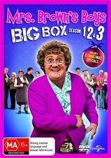 MRS BROWNS BOYS Brown's Big Box Series 1 2 3 Christmas Special R4 DVD Box Set