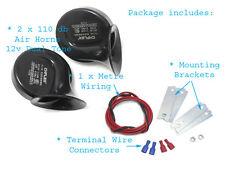 Deux tons 12V air corne bruit kit pour suzuki bandit gsf 600 650 1200 1250 GSX750