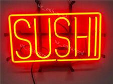 "New Sushi Shop Open Neon Sign Artwork Light Lamp Bar Wall Decor 14""x10"""