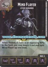 Mind Flayer Lesser Humanoid #43 - Dungeons & Dragons Battle for - Dice Masters